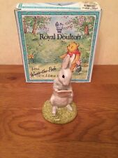 Royal doulton WINNIE THE POOH collection WP23 RABBIT READS THE PLAN - NEW
