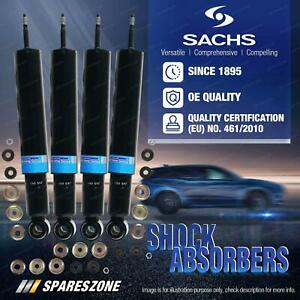Front + Rear Sachs Shock Absorbers for Mercedes Benz W140 C140 Sedan Coupe 92-99
