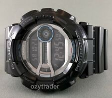 New Casio G-Shock GD-110-1 Gloss Black Super LED Shock & 200M Water Resist Watch