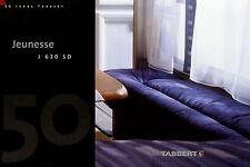 Prospekt Tabbert Jeunesse J 620 SD Wohnwagen Caravan 2 03 2003 brochure