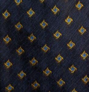 Gray Gold Wool Silk Self Tipped Tie