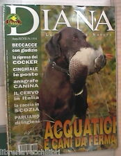 DIANA 24 2003 Acquatici e cani da ferma Cinghiale Cervi Cocker Scozia Anagrafe