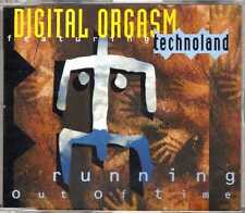 Digital Orgasm feat. Technoland - Running Out Of Time - CDM - 1992 - House 5TR