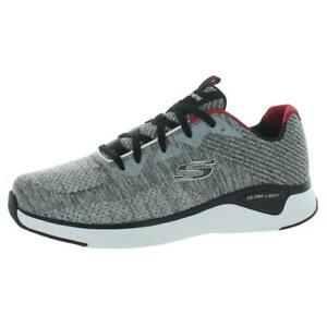 Skechers Mens Solar Fuse Kryzik Gray Fitness Walking Shoes 10 Wide (E) BHFO 5451