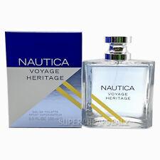 Nautica Voyage Heritage for Men 3.3 oz Eau de Toilette Spray NIB AUTHENTIC