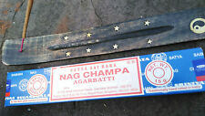 Lovely Incense holder with FREE Nag Champa sticks home fragrance ash catcher
