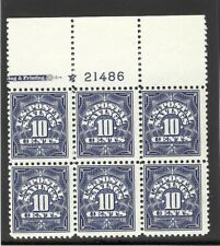 U.S # PS6 TOP PLATE BLOCK 0F 6  IN  MINT / NH-OG / F-VF ,CAT'S $175.00
