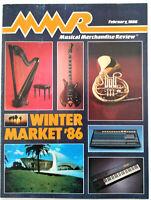 Vintage MUSICAL MERCHANDISE REVIEW, MMR Magazine, Winter Market February 1986