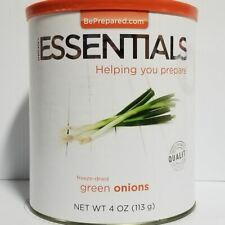 Emergency Essentials Freeze Dried Food Green Onions #10 Can