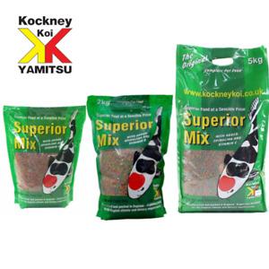 Kockney Koi Yamitsu Superior Mix Pond Food Pellets 500g-5kg Bags