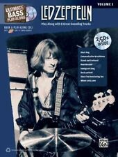 Led Zeppelin Ultimate Bass Play Along Vol.1 Tab Book 2 Cds NEW!