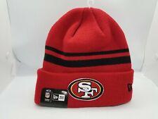 NEW ERA CUFF KNIT BEANIE.  NFL.  SAN FRANCISCO 49ERS. RED.