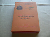 Ortsaufgabestempel im Herzogthum Nassau-LUDWIG GAMBERT-Katalog  1985