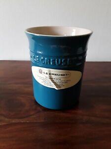 Le Creuset Stoneware Storage/Utensil Jar 1.1L - Dark Teal