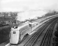 CB&Q Burlington Blackhawk Aeolus #4000 Steam Locomotive Train Railroad photo 7