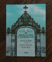 France 1968 Red Cross Fund Booklet MNH