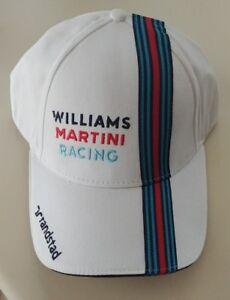 Valtteri Bottas Williams Martini Formula Racing Randstad Driver Hats NWT