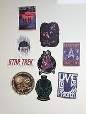 Star Trek stickers autcollants - Spock, l'Rell, Klingon, DS9, Starfleet Academy,
