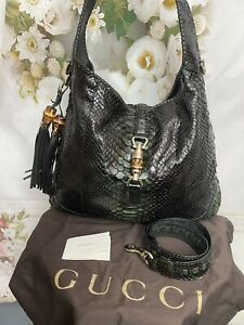 GUCCI NEW JACKIE HOBO/SHOULDER BAG GREEN Limited Edition Brand New MSRP$ 6400