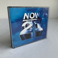 Now That's What I Call Music 21 2 CD Rare Fat Box 100% Complete Chart Hits VGC