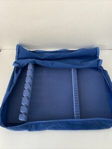 Hagerty Silversmith's Cloth Anti Tarnish Zippered Flatware Storage Case 19 X 13