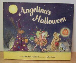 American Girl Angelina Ballerina ANGELINA's HALLOWEEN Hardcover Book