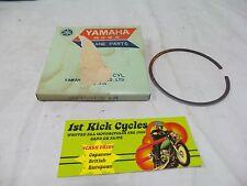 NOS YAMAHA DT2MX MX250A MX250B YZ250C Piston Ring 3rd O.S+0.75mm 313-11611-30
