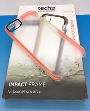 Tech21 Impact Frame Case For iPhone 5s iPhone SE and iPhone 5  New