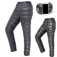 Men/Women Outdoor Winter Thermal Warm Ultralight White Goose Down Pants/Trousers
