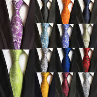 Classic Men's 100% Silk Tie Necktie Geometric Woven JACQUARD Neck Ties /G