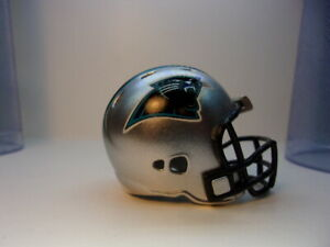 (1) Carolina Panthers Riddell Pocket Pro Football Helmet, Revolution style