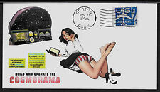 1963 Renwal Cosmorama Planetarium Ad Featured on Collector's Envelope *A906