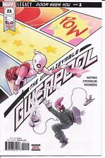 Marvel Comics UNBELIEVABLE GWENPOOL #21 first printing Star Lord Marvel stamp