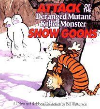 Attack of the Deranged Mutant Killer Monster Snow Goons (Calvin & Hobbes) by Bil