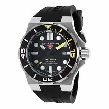 Swiss Legend SL-10062A-01-YA Abyssos Automatic Silicone Watch Black Dial