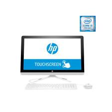 """Ordenador All in One HP 24-e001ns i3 7100u 23.8"""" Tactil 8GB"""