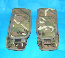 BRITISH ARMY OSPREY MK1VA PAIR (TWO) OF SINGLE MAG AMMUNITION  POUCHES (A).