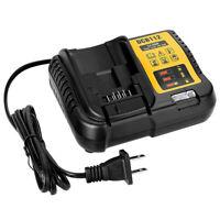 DCB112 12V 20V MAX Lithium Ion Battery Charger for Dewalt DCB205 DCB204 DCB120