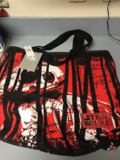 Bnwt Disney Store Star Wars Bb-8 Tote Bag Purse - Red / Black