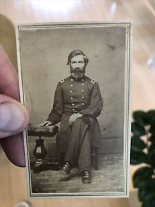 Rare 1860's Civil War CDV Photo Of Presumably A Union Colonel Or General