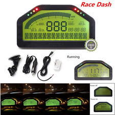 Auto Car Dash Race Display OBD2 Bluetooth Dashboard LCD Screen Digital Gauge Kit