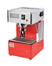 Quick Mill 820 Espresso Machine Cappuccino Coffee Maker Thermoblock Red 220v