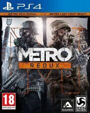 Metro Redux (Ps4) Neuf Scellé la Playstation 4