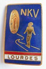 Insigne Religieux Badge NEDERLAND PAYS BAS NKV PELERINAGE CATHOLIC LOURDES