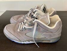 **Jordan V (5) Low Golf Shoes - Wolf Gray - Size 13**
