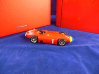 Very Rare Hotwheels Mattel SF01/56 Ferrari D60 1956 J M Fangio scale 1:43