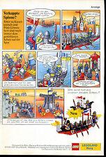 LEGO -- legoland castello -- occulta spie -- Pubblicità di 1987 -