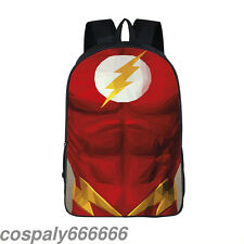 Marvel Comics The Flash school bag Student Laptop Packsack Shoulder Backpack new