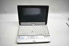 Vintage Rare Fujitsu Lifebook Swivel TouchScreen Laptop & Stylus P1510D Untested