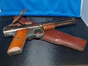 Vintage Benjamin Franklin Model 117 Air Pistol .177  w. Original Holster